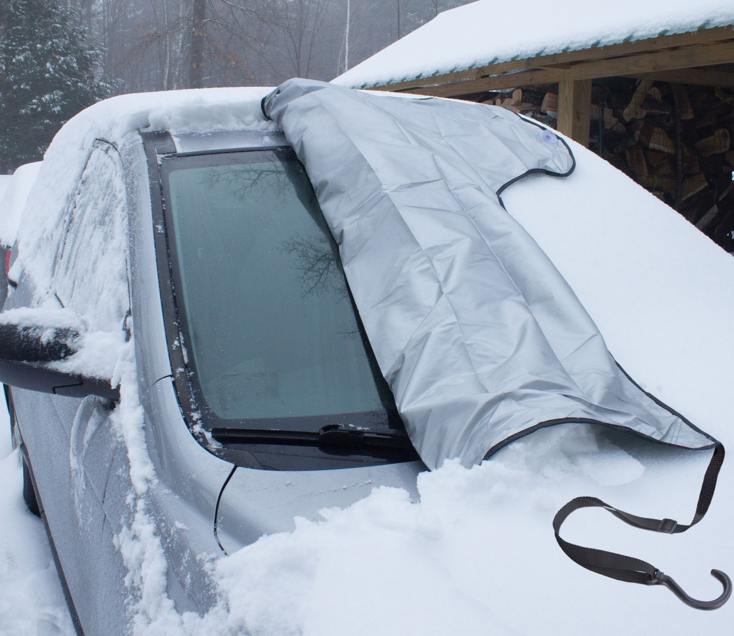 Snowoff Windshield Snow Cover Car Hood Cover Ice And